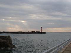 和田漁港は波高し