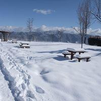 大雪の中、長野の上山田温泉へ