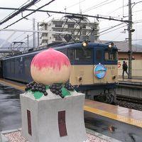 楽しい乗り物に乗ろう!  JR東日本「レトロ桃源郷」号  ~山梨~