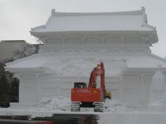 久しぶりの冬の札幌
