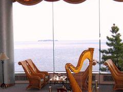 熱海:「日の出と満月の海」 ホテルニューアカオ・ロイヤルウィング