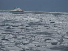 ぐるり北海道フリーきっぷを利用して網走へ流氷を見に行く。