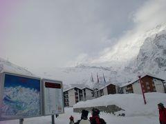 スイス ツェルマットスキー(その2、サースフェー+ツェルマットパノラマ写真)