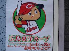 プロ野球キャンプ 広島カ-プ (その2)