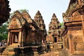 カンボジア・バンテアイスレイ ∞ アジア・グランドサークル・ツアー(11) ∞
