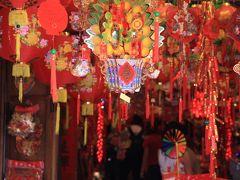 シンガポール観光 春節(旧正月)前の華やかな飾り付け 「チャイナタウン」