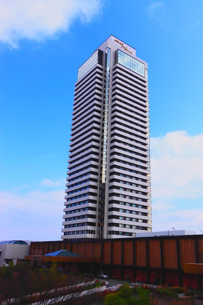今回、シンガーソングライター柴田淳さんのコンサートがあった為に一泊二日で神戸へ出掛けました。<br /><br />泊まったホテルは、老舗ホテル「ホテルオークラ神戸」です。<br />部屋は、西向き(ポートタワー側)の30階でした。<br />さすが30階、見晴らしは最高でした。<br /><br />ただ、ポートタワーは改修工事真っ最中なので、ライトアップしてませんでしたが…今回の改修工事は2010年の3月いっぱい掛かるらしいです。