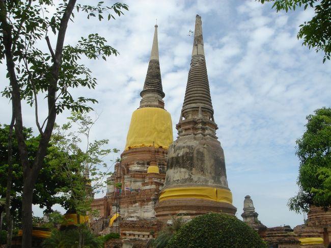 バンコク4日間 3,4日目「古都の遺跡とチャオプラヤーの風」