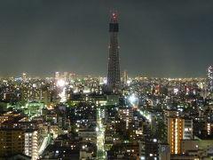 スカイツリーの見えるホテルで、成田・秋葉原・今戸神社の旅。