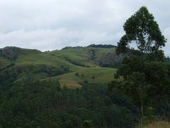 スワジランドのエズルウィニ渓谷と首都のムババーネ。