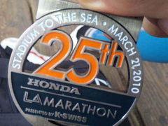 LAマラソン完走 前半 (スタートからハーフまで)