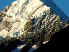 NZ-16  Aoraki/マウント・クックの美 1/5 ☆氷雪の峰と対面