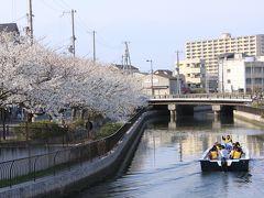 堺市内散策 方違神社、菅原神社、開口神社、そして土居川沿いの桜