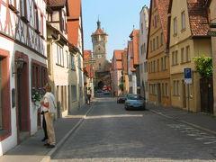 ロマンチック街道からスイス・アルプスへ (3)ローテンブルグ