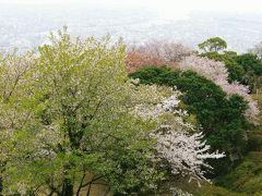 眉山で春を満喫