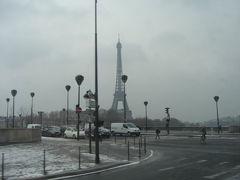 2月のパリ