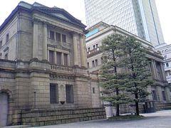 東京文化財ウォークで、日本銀行の市民講座貨幣博物館見学