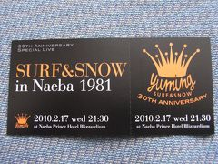 YUMING SURF&SNOW 30th Anniversary Special Live 〈2〉