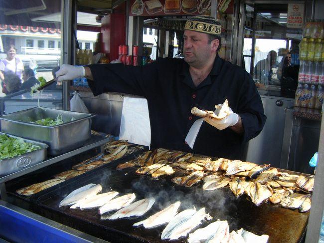 パムッカレから国内線にのり、再び飛んでイスタンブール♪<br />大好きなバザールめぐり、そして念願のサバサンドを食し、最後はトルコ料理三昧とグルメに走りました(笑)