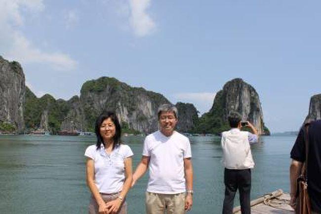 2009年9月、ベトナムはハノイ、ハロン湾へ行ってきました。<br />5日間のツアーでしたが、夜出発、早朝帰国という実質3日間の旅行でした。