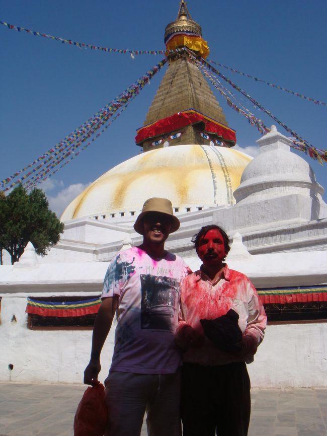 ホーリー祭に合わせてネパールに来ました。<br />ただし、その前に居たインドで体をやられたので無茶できませんでしたが。