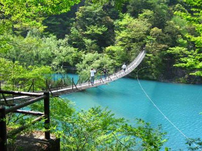 吊り橋 大井川