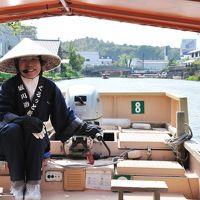 島根県松江市、ゆっくりと遊覧船に乗船して、松江の城下町を散策する水景めぐりの旅 (^3^)-☆