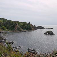 東尋坊,能登金剛旅行6-能登金剛(ヤセの断崖・義経の舟隠し)