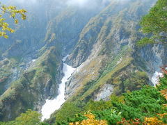 秋の北アルプス2009~五竜岳2,814m登頂