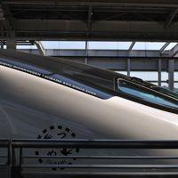 ついに乗車できた九州新幹線 新800系U007と新車のU008 d=(^o^)=b