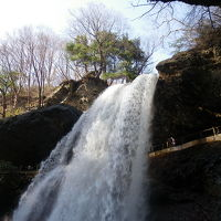 松川渓谷の2つの滝『八滝』&『雷滝』◆2010GW・信州の滝めぐり【その9】