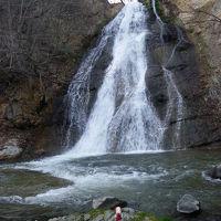 「二重滝」でスヌ君危機一髪~帰路◆2010GW・信州の滝めぐり【その10・最終章】