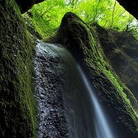 シワガラの滝 /兵庫県 新温泉町