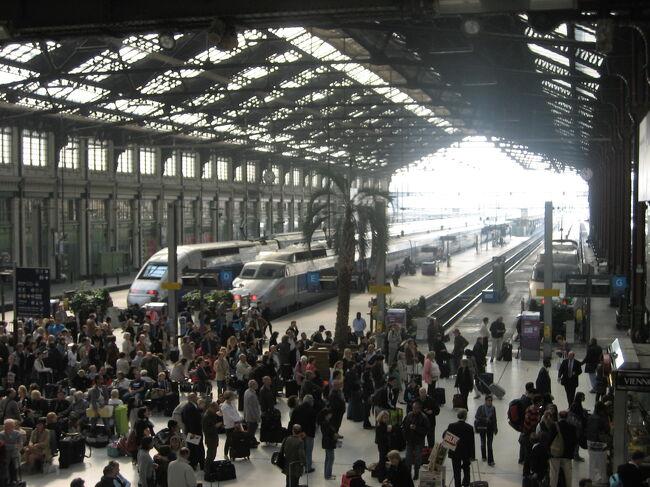 France 巴里B&Bの旅 (2/20)リヨン駅