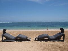 やっぱり良いなぁ~バリ島♪ 一人旅 8日間 ⑩。。。 セントレジス バリ (2009/11) / ビーチでランチ & ラグーンプール 。。。