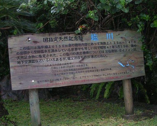 """「マイナー」というと失礼かもしれませんが、<br /><br />あまり一般的にメジャーではない観光地も全国にはたくさんあります。<br /><br />今回は、2006年のGWに訪れた沖縄県の塩川&喜屋武岬。<br /><br />超メジャー観光地の今帰仁、漫湖とともにご紹介します。<br /><br />北大東島&南大東島を訪れたついでの「離島ついで旅」です。<br />http://4travel.jp/traveler/satorumo/album/10469581/<br /><br /><br />★「B級でマイナーな観光地」シリーズ<br /><br />荒川ロックゲート(東京)<br />http://4travel.jp/travelogue/10438358<br />鮮魚列車&日本一短い商店街(大阪)<br />http://4travel.jp/travelogue/10420078<br />鹿嶋まつり&鹿島臨海鉄道鹿島臨港線(茨城)<br />http://4travel.jp/travelogue/10623562<br />鳴海球場跡(愛知)<br />http://4travel.jp/travelogue/10416547<br />西寺跡(京都)<br />http://4travel.jp/travelogue/10467065<br />「戸(へ)」のつく街めぐり(青森&岩手)<br />https://ssl.4travel.jp/tcs/t/editalbum/<br />関西電力黒部専用鉄道""""上部軌道""""(富山)<br />http://4travel.jp/travelogue/10535489<br />嘉穂劇場(福岡)<br />http://4travel.jp/travelogue/10536327<br />遊楽部川の鮭の遡上(北海道)<br />http://4travel.jp/travelogue/10555940<br />石見神社&白鳥城(兵庫)<br />http://4travel.jp/travelogue/10421611<br />西武秩父線のローカル駅(埼玉)<br />http://4travel.jp/travelogue/10441164<br />深谷駅&さきたま古墳&あついぞ!熊谷(埼玉)<br />http://4travel.jp/travelogue/10439881<br />内之浦&宮之城&藺牟田池(鹿児島)<br />http://4travel.jp/travelogue/10470926<br />京都一条妖怪ストリート(京都)<br />http://4travel.jp/travelogue/10565267<br />町田リス園(東京)<br />http://4travel.jp/travelogue/10416970<br />靭(うつぼ)公園(大阪)<br />http://4travel.jp/travelogue/10420097<br />士幌線廃線跡(北海道)<br />http://4travel.jp/traveler/satorumo/album/10440854/<br />氷のトンネル(北海道)<br />http://4travel.jp/travelogue/10606410<br />日本最北のマクドナルド&地吹雪の抜海駅(北海道)<br />http://4travel.jp/travelogue/10431780<br />""""ののちゃん""""と""""タブチくん""""のふるさと・玉野(岡山)<br />http://4travel.jp/travelogue/10563273<br />立山砂防軌道&立山カルデラ(富山)<br />http://4travel.jp/travelogue/10533323<br />日本一の長寿村&塩川&喜屋武岬(沖縄)<br />http://4travel.jp/travelogue/10470372<br />伊勢崎西部公園(群馬)<br />http://4travel.jp/traveler/satorumo/album/10723218<br />長浜大橋(愛媛)<br />http://4travel.jp/travelogue/10450812<br />くりはら田園鉄道乗車会(宮城)<br />http://4travel.jp/travelogue/10620825<br />塩田津&八本木宿&浜金屋&筑後川昇開橋(佐賀)<br />http://4travel.jp/travelogue/10468519<br />モエレ沼公園&宮島沼&77"""