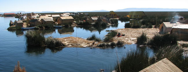 【2010ペルーの旅(7)】 ティティカカ湖の...