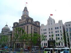 上海の一番の観光名所外灘。
