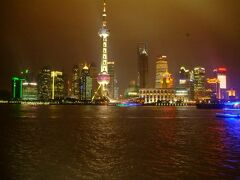 上海の夜景。