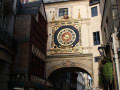 ルーアンの大聖堂・大時計・ジャンヌダルク  ノルマンディー・ブルターニュの旅2008①Gros-Horloqe de ROUEN