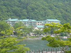 湖畔の風雅なホテル「楓雅」で京懐石