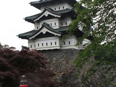 弘前城と浅虫温泉