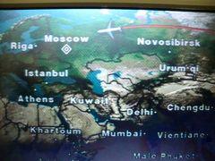 2010 #1 JL441でドモジェドヴォ空港へ