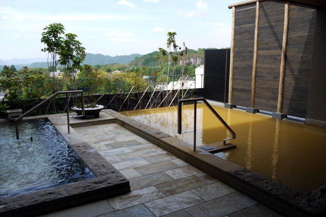 お部屋の写真を撮った後は、お楽しみの温泉大浴場湯山(ゆざん)に向かいます。<br /><br />東急ハーヴェストクラブ有馬六彩には金湯・銀湯の二つの自家源泉があり、新鮮で濃い温泉が楽しめます。<br />