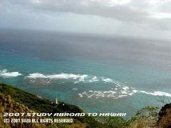 Study Abroad@Hawaii ダイアモンドヘッド