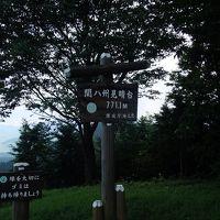 高山不動から関八州見晴台へ