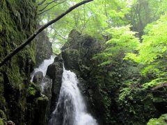 岡山/①暑い!涼を求めて・・・ 不動滝とそうめん流し@涼水亭