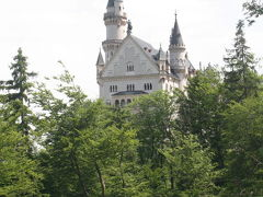 ドイツの旅 −3 世界一?の「ノイシュヴァンシュタイン城」