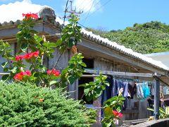 浅瀬に奇岩が並ぶ大神島