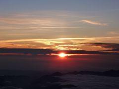 2010年7月 一合目から富士登山